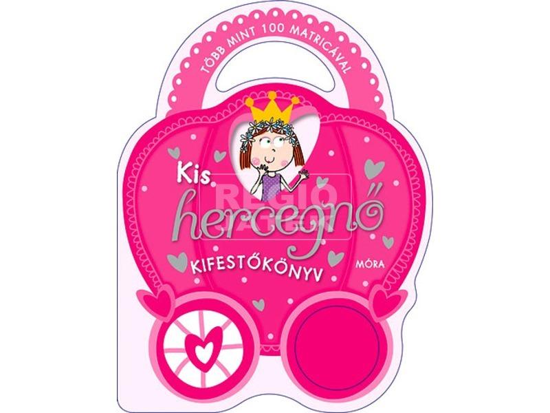 kép nagyítása Kis hercegnő kifestőkönyv matricákkal