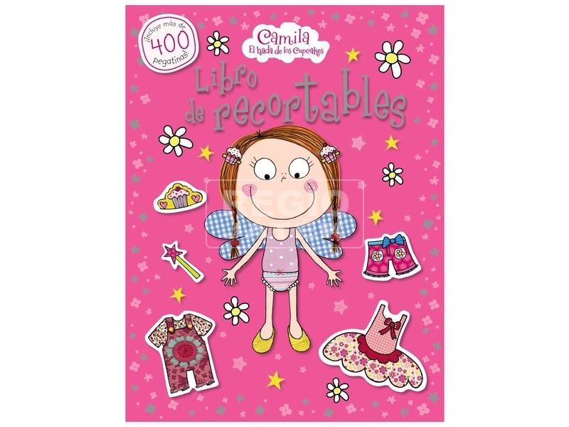 Kamilla a sütik tündére matricás könyv