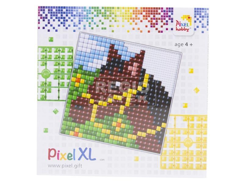 Pixel XL készlet - ló, nagy