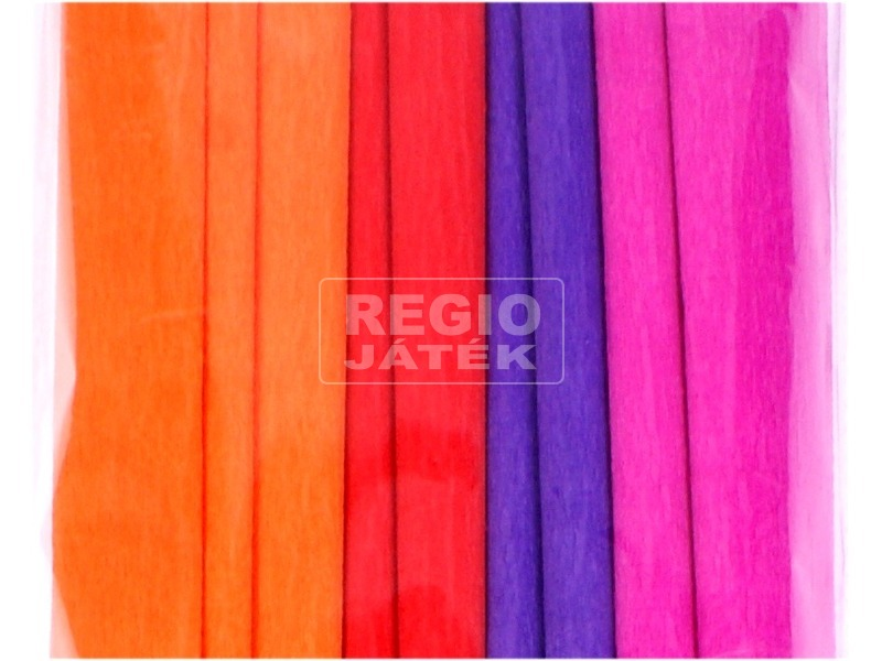 kép nagyítása Élénk színű krepp papír - többféle