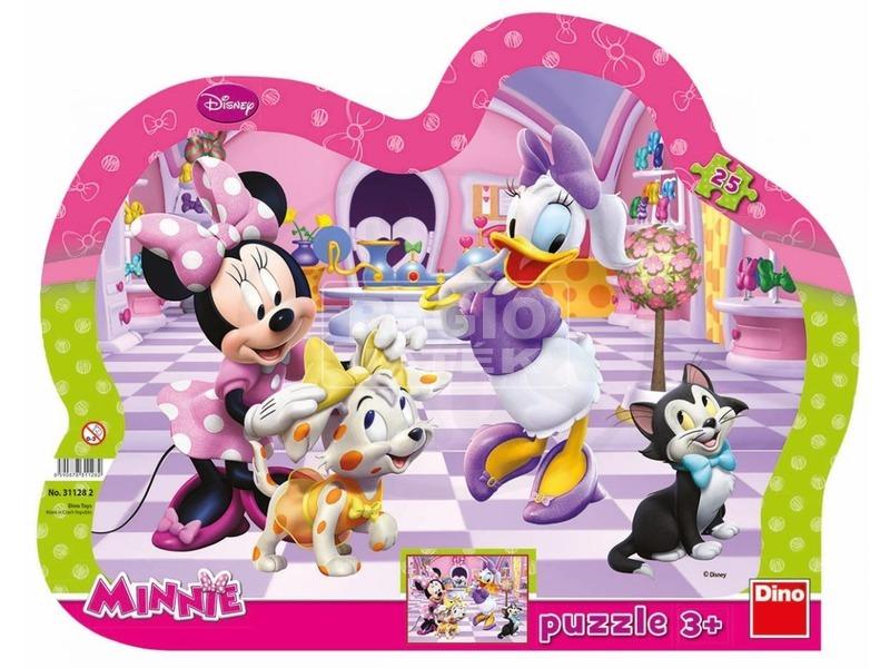 Minnie egér 25 darabos puzzle