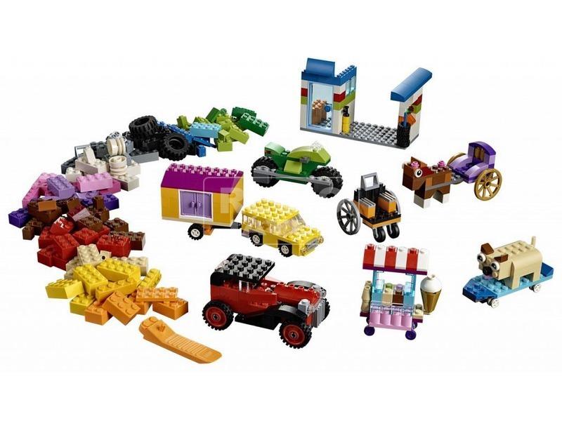 kép nagyítása LEGO® Classic Kockák és kerekek 10715