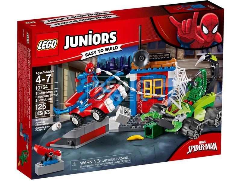 LEGO® Juniors Pókember és Skorpió 10754