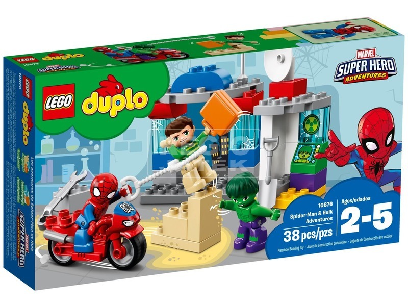 LEGO® DUPLO Super Heroes Pókember és Hulk 10876