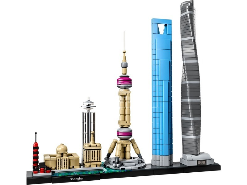 kép nagyítása LEGO® Architecture Shanghai 21039