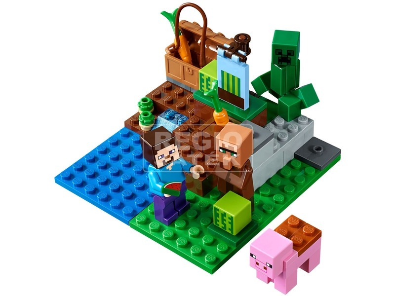 kép nagyítása LEGO® Minecraft A dinnyefarm 21138