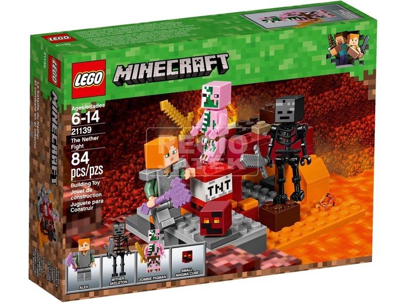 LEGO® Minecraft Az alvilági harc 21139
