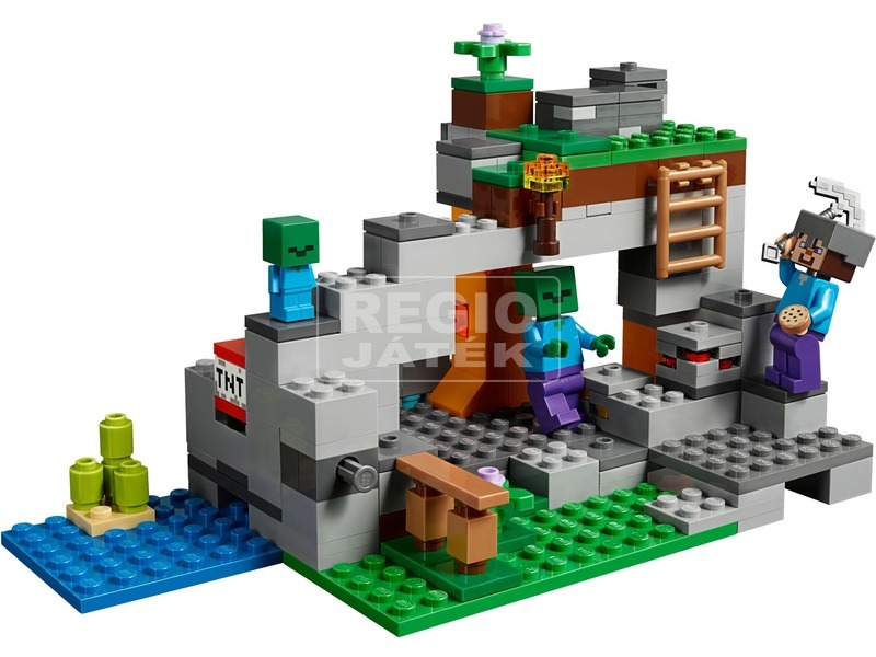 kép nagyítása LEGO® Minecraft Zombibarlang 21141