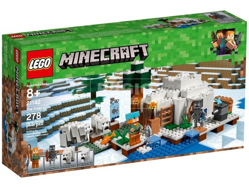 LEGO® Minecraft A sarki iglu 21142