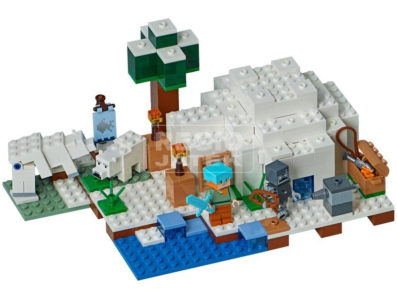 kép nagyítása LEGO® Minecraft A sarki iglu 21142