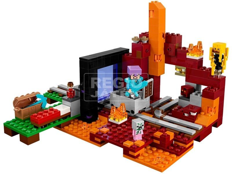 kép nagyítása LEGO® Minecraft Az Alvilág kapu 21143