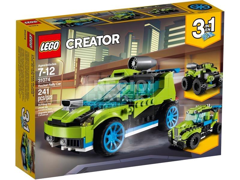 LEGO® Creator Rakétás raliautó 31074