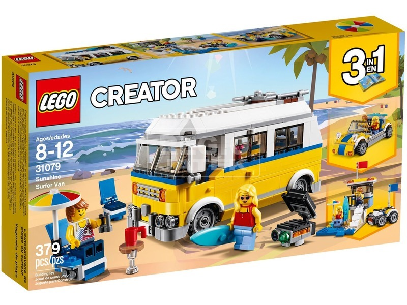 LEGO® Creator Napsugár szörfös furgon 31079