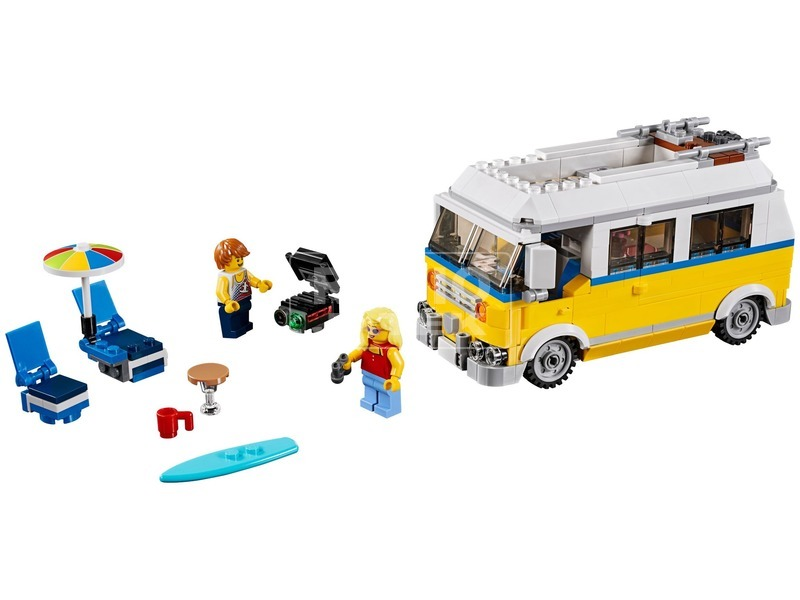 kép nagyítása LEGO® Creator Napsugár szörfös furgon 31079