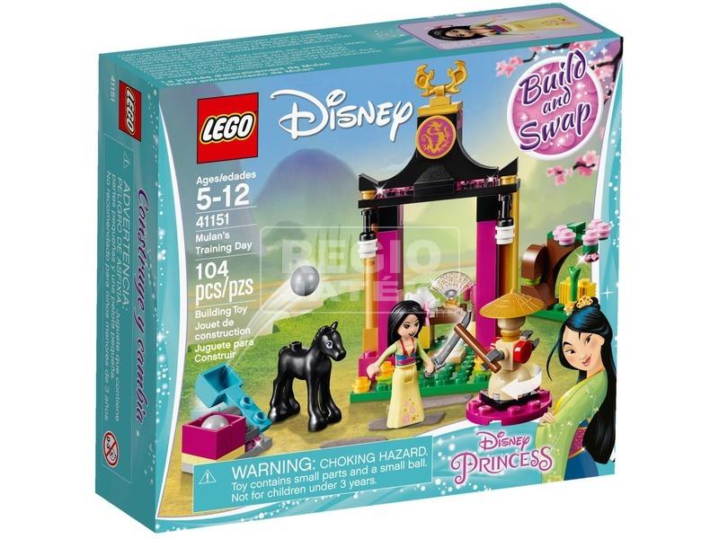 LEGO® Disney Princess Mulan kiképzése 41151