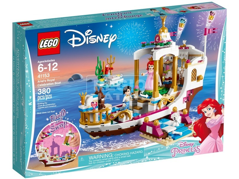 LEGO® Disney Princess Ariel királyi hajója 41153