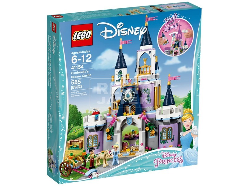 LEGO® Disney Princess Hamupipőke kastélya 41154