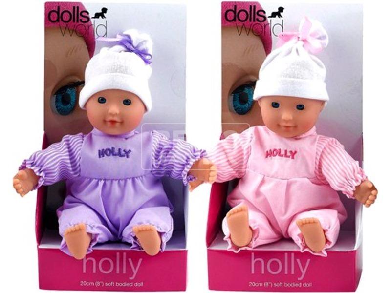 Holly babzsákos baba - 20 cm, többféle