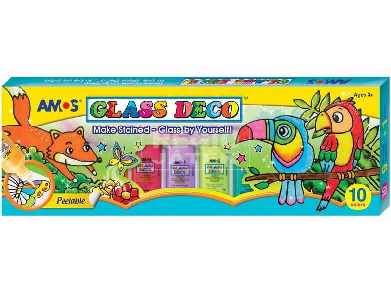 Glass Deco üvegfesték készlet