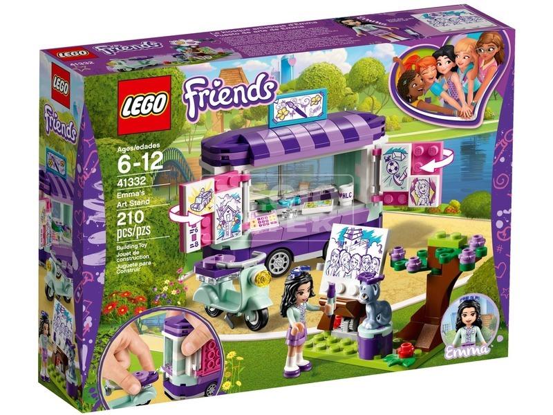 LEGO® Friends Emma mozgó galériája 41332