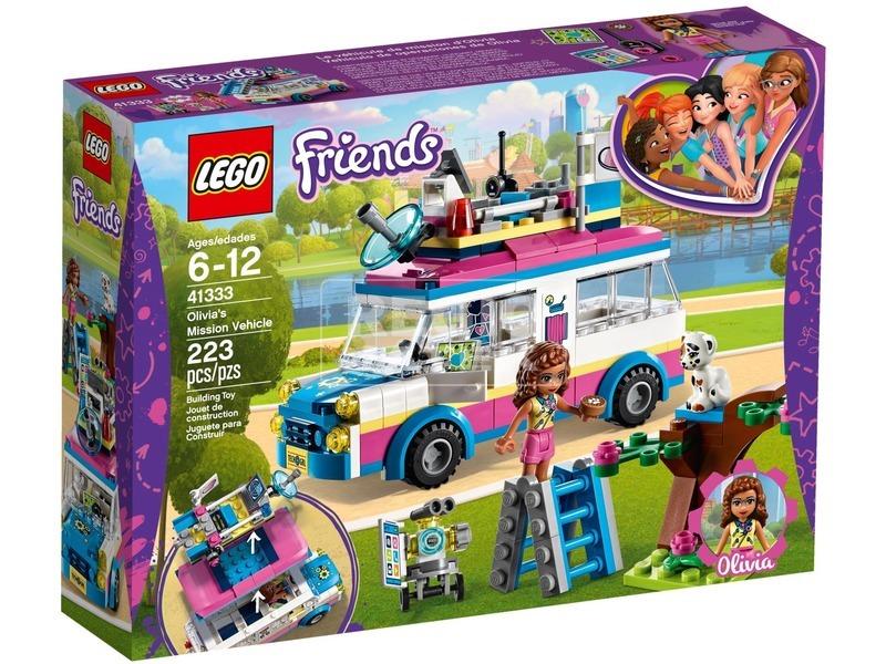 LEGO® Friends Olivia különleges járműve 41333