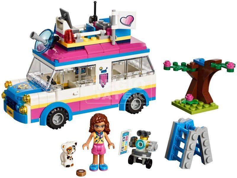 kép nagyítása LEGO® Friends Olivia különleges járműve 41333