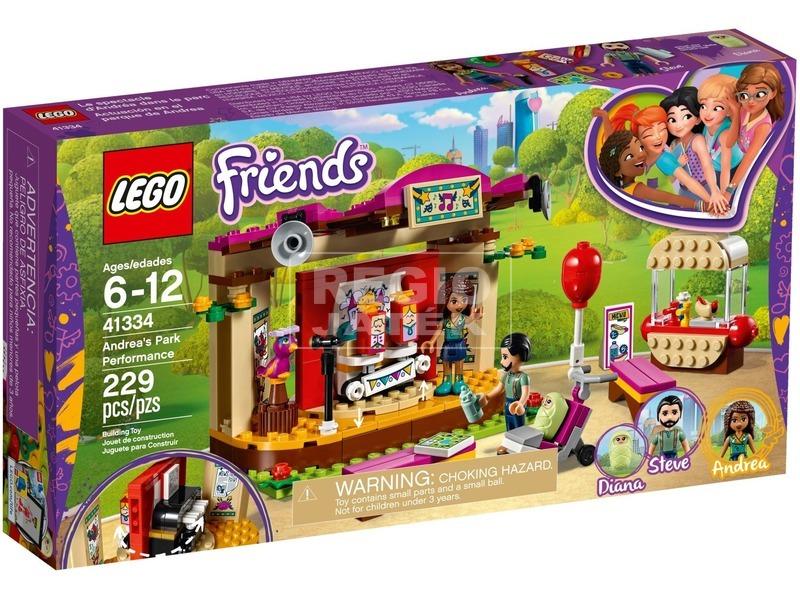 LEGO® Friends Andrea előadása a parkban 41334