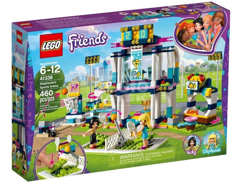 LEGO® Friends Stephanie sportközpontja 41338