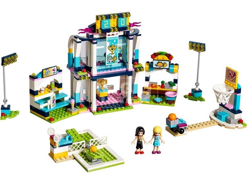 kép nagyítása LEGO® Friends Stephanie sportközpontja 41338
