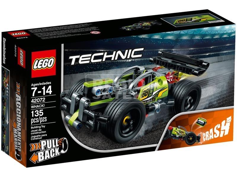 LEGO® Technic Ütköztethető versenyjármű I. 42072
