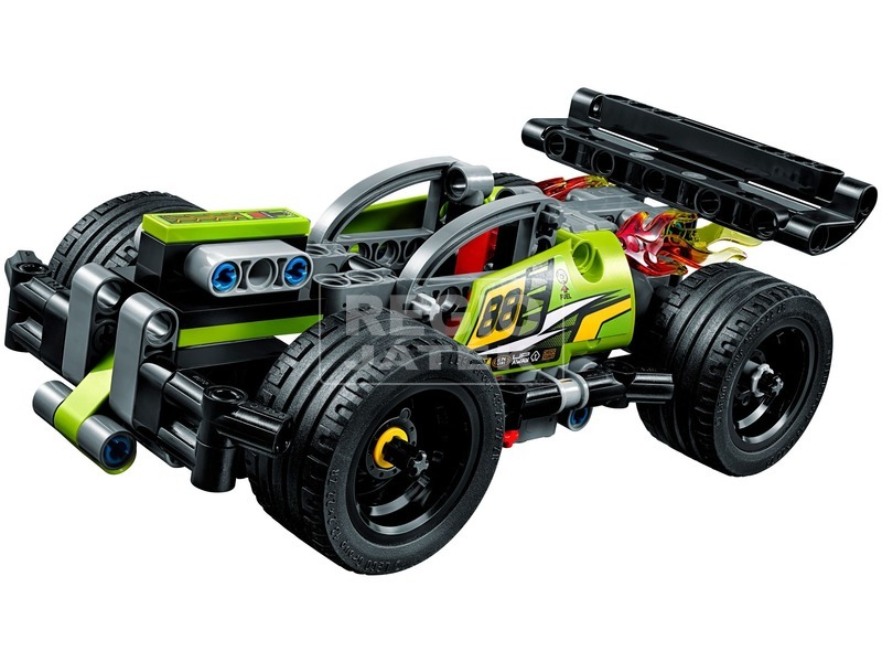 kép nagyítása LEGO® Technic Ütköztethető versenyjármű I. 42072