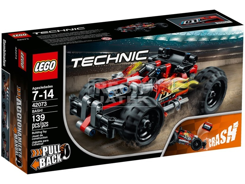 LEGO® Technic Ütköztethető versenyjármű II. 42073