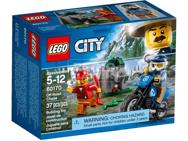 LEGO® City Police Terepjárós üldözés 60170