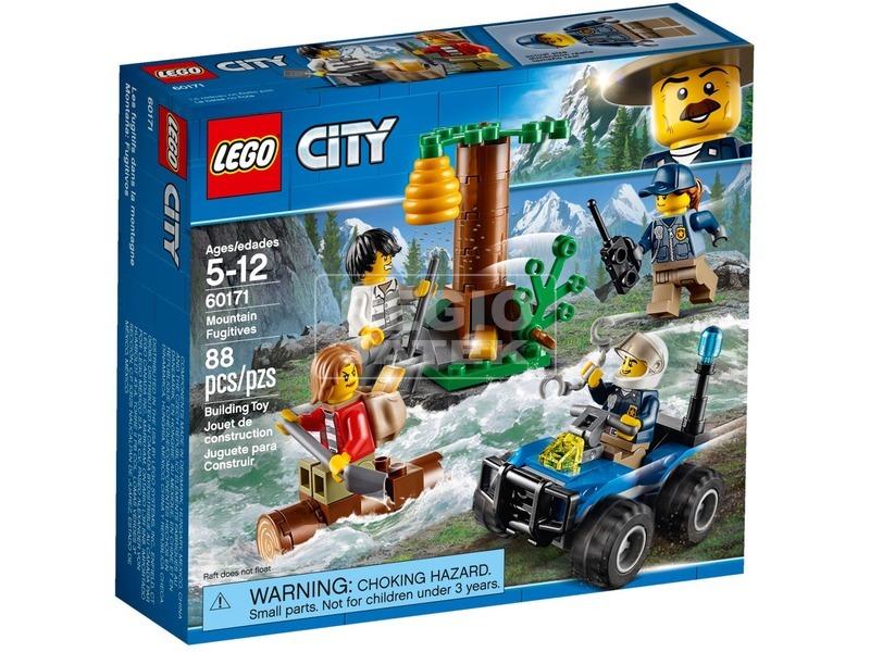 LEGO® City Police Hegyi szökevények 60171