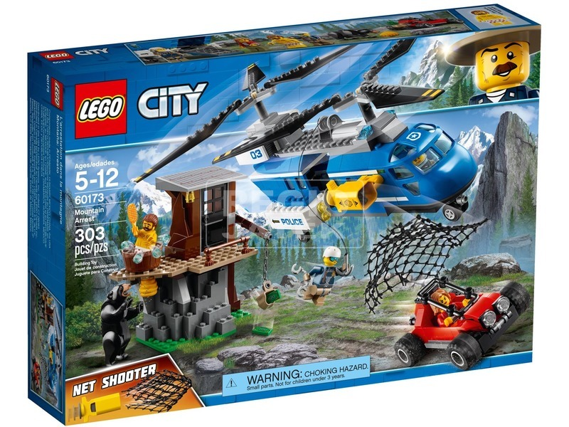 LEGO® City Hegyi letartóztatás 60173