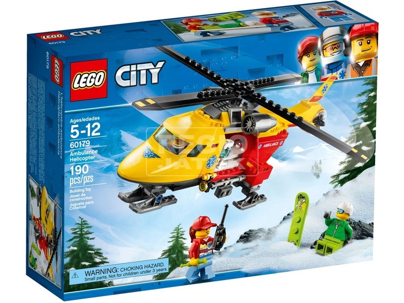 LEGO® City Mentőhelikopter 60179