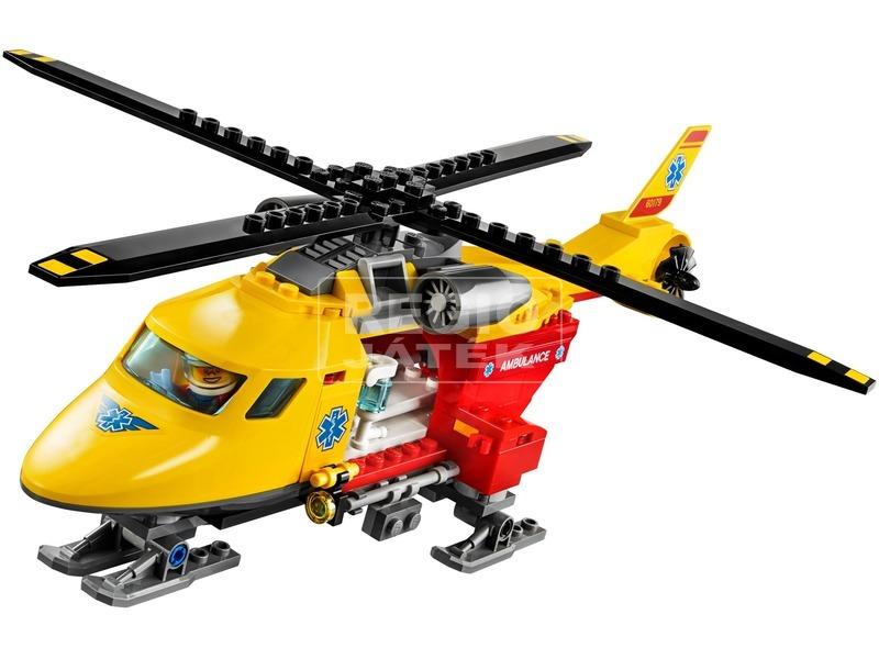 kép nagyítása LEGO® City Mentőhelikopter 60179