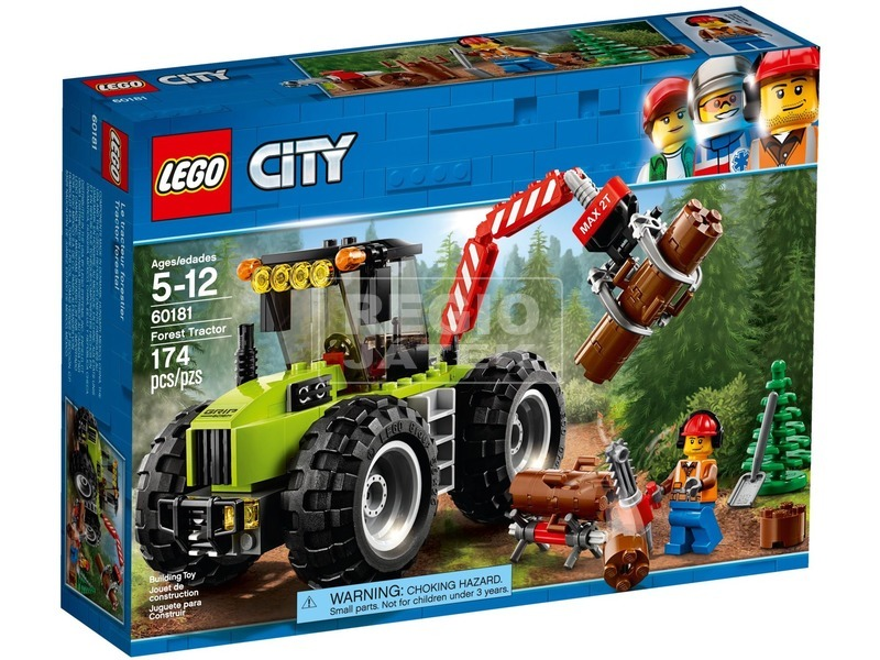 LEGO® City Great Vehicles Erdei Traktor 60181