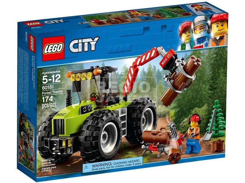 LEGO® City Erdei Traktor 60181