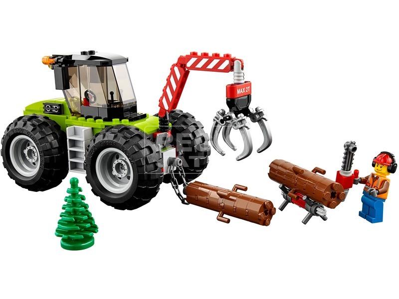 kép nagyítása LEGO® City Great Vehicles Erdei Traktor 60181