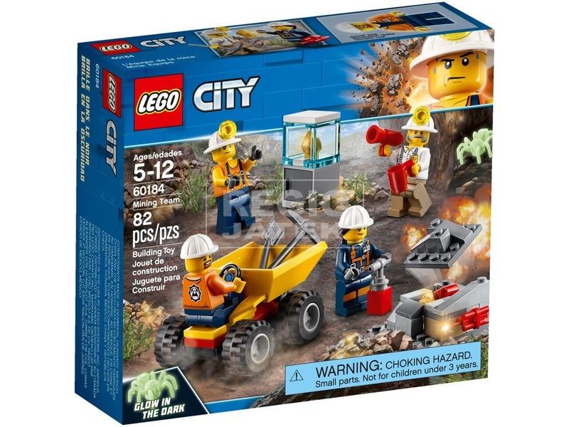 LEGO® City Mining Bányászcsapat 60184
