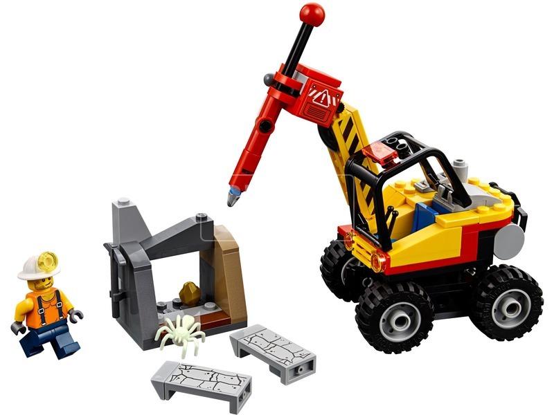 kép nagyítása LEGO® City Mining Bányászati hasítógép 60185