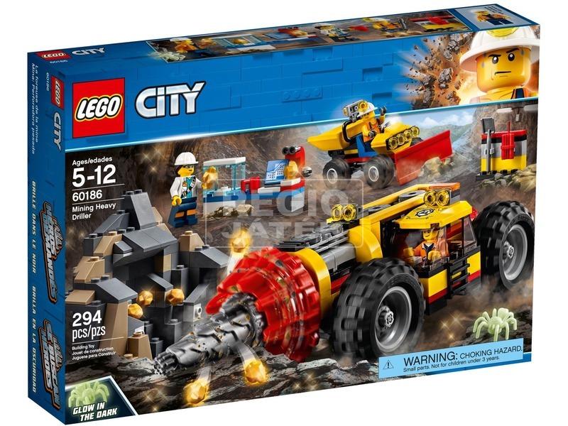 LEGO® City Mining Nehéz bányafúró 60186
