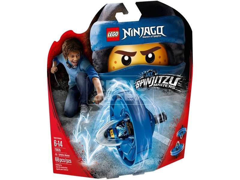 LEGO® Ninjago Jay - Spinjitzu mester 70635