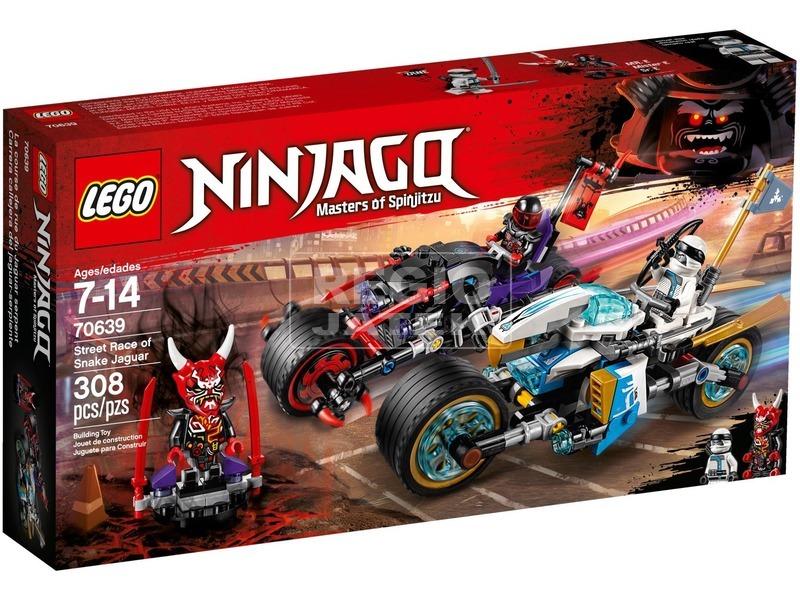 LEGO® Ninjago A Jaguárkígyó utcai verseny 70639