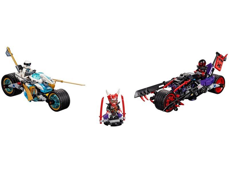 kép nagyítása LEGO® Ninjago A Jaguárkígyó utcai verseny 70639