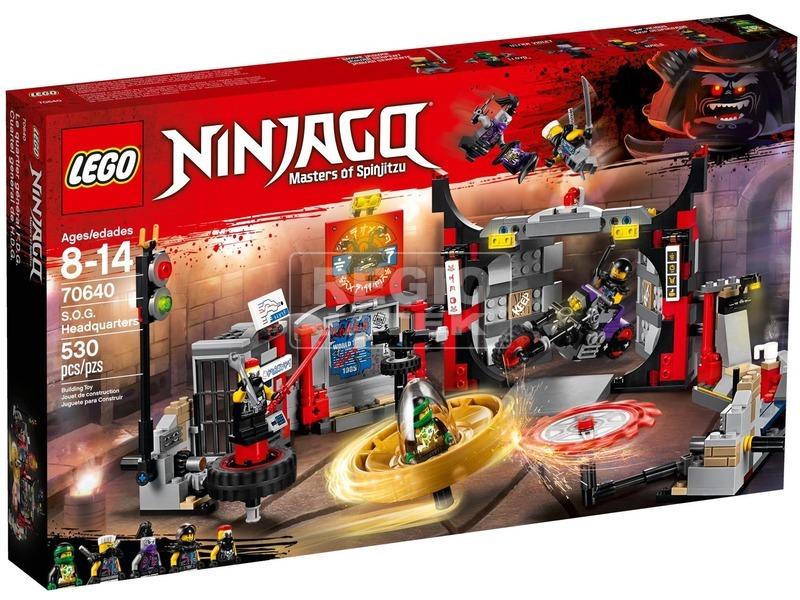 LEGO® Ninjago G. F. Központ 70640