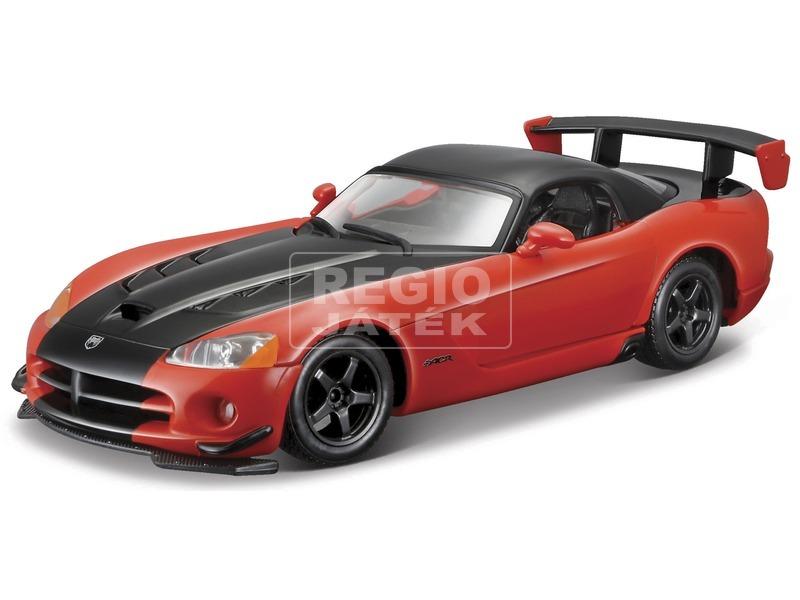 Bburago Dodge Viper SRT10 autó - 1:24, többféle