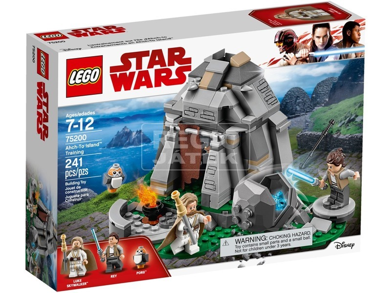 LEGO® Star Wars Ahch-To sziget tréning 75200