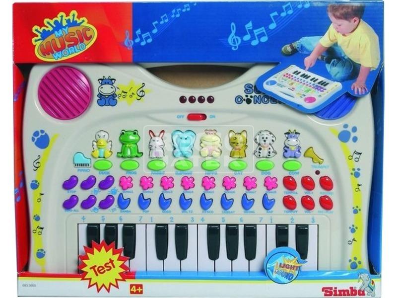 My Music World állathangos zongora